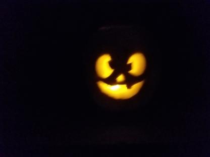 Geno's pumpkin